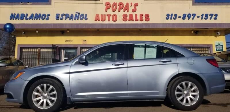 2013 Chrysler 200 for sale at Popas Auto Sales in Detroit MI