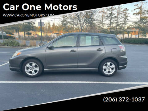 2007 Toyota Matrix for sale at Car One Motors in Seattle WA
