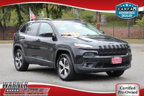 2014 Jeep Cherokee for sale at Warner Motors in East Orange NJ