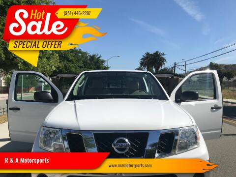 2011 Nissan Frontier for sale at R & A Motorsports in Corona CA