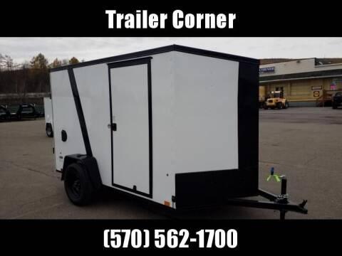 Look Trailers STLC 6X10 - RAMP - BLACKED