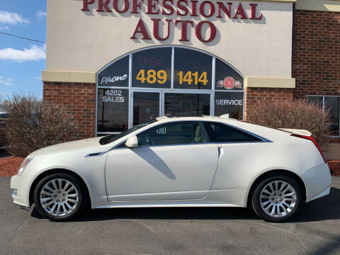 2014 Cadillac CTS for sale at Professional Auto Sales & Service in Fort Wayne IN