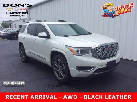 2018 GMC Acadia for sale at DON'S CHEVY, BUICK-GMC & CADILLAC in Wauseon OH