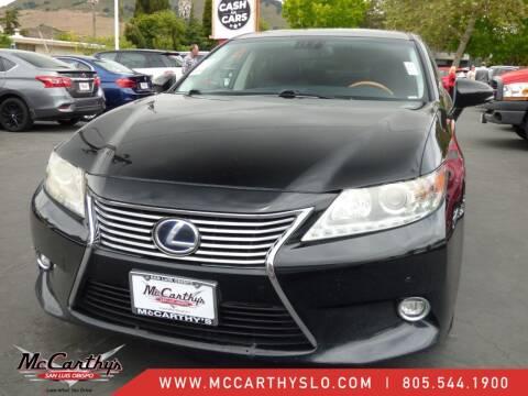 2014 Lexus ES 300h for sale at McCarthy Wholesale in San Luis Obispo CA