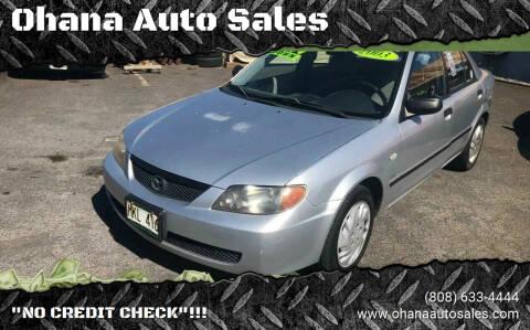 2003 Mazda Protege for sale at Ohana Auto Sales in Wailuku HI