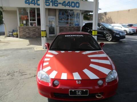 1994 Honda Civic del Sol for sale at Elite Auto Sales in Willowick OH