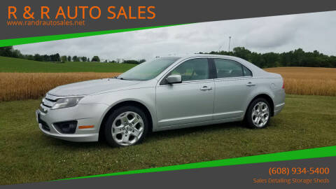2010 Ford Fusion for sale at R & R AUTO SALES in Juda WI