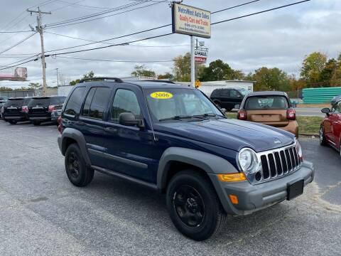2006 Jeep Liberty for sale at MetroWest Auto Sales in Worcester MA