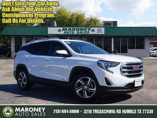 2018 GMC Terrain for sale at Maroney Auto Sales in Humble TX