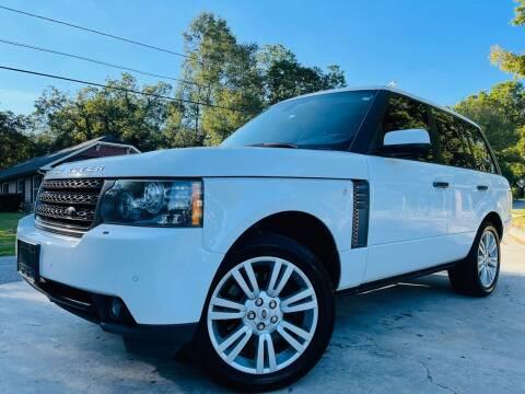 2011 Land Rover Range Rover for sale at E-Z Auto Finance in Marietta GA