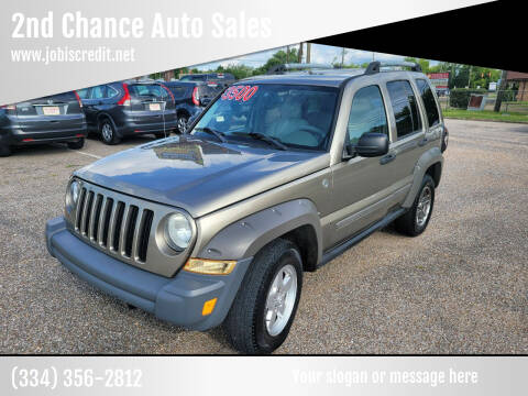 2005 Jeep Liberty for sale at 2nd Chance Auto Sales in Montgomery AL