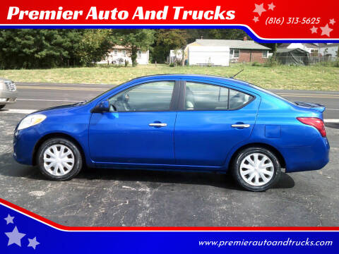 2013 Nissan Versa for sale at Premier Auto And Trucks in Independence MO