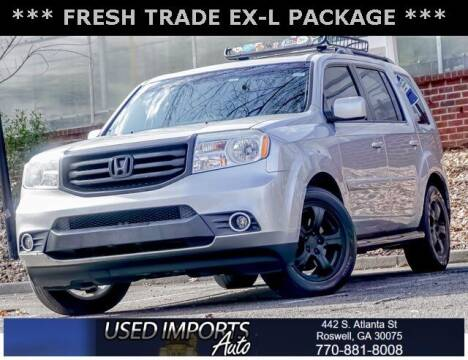 2012 Honda Pilot for sale at Used Imports Auto in Roswell GA