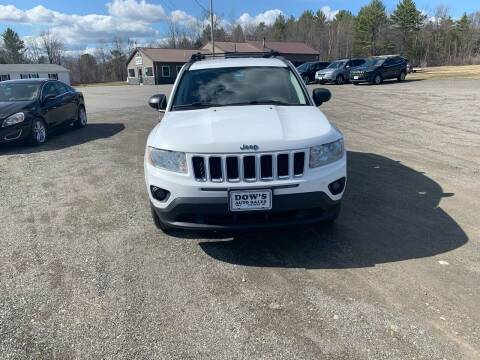 2011 Jeep Compass for sale at DOW'S AUTO SALES in Palmyra ME