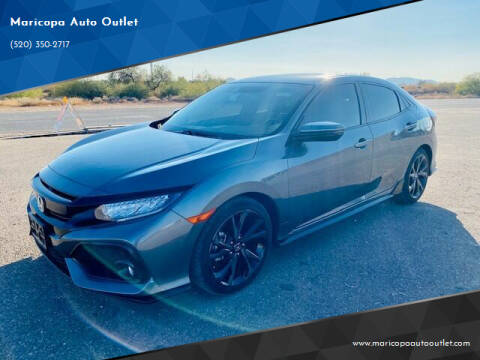 2018 Honda Civic for sale at Maricopa Auto Outlet in Maricopa AZ