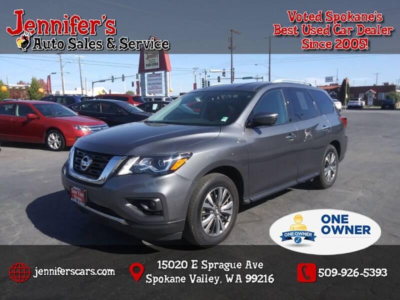 2019 Nissan Pathfinder for sale at Jennifer's Auto Sales in Spokane Valley WA