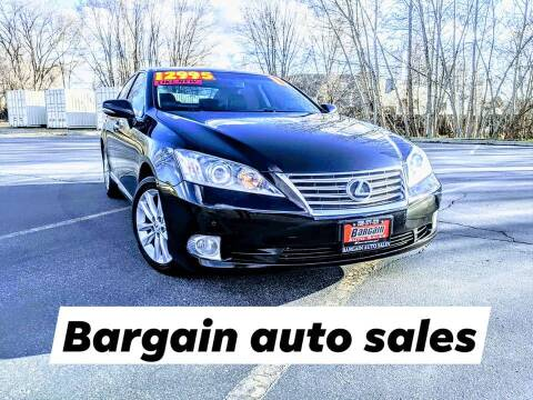 2011 Lexus ES 350 for sale at Bargain Auto Sales LLC in Garden City ID