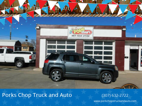 2010 GMC Terrain for sale at Porks Chop Truck and Auto in Cheyenne WY
