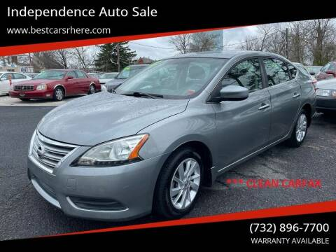 2013 Nissan Sentra for sale at Independence Auto Sale in Bordentown NJ