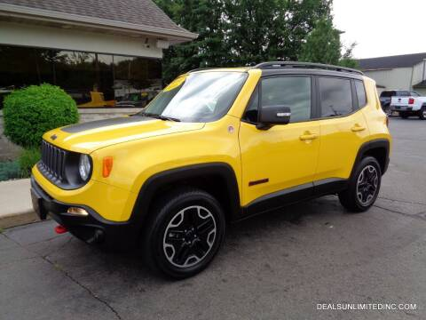 2016 Jeep Renegade for sale at DEALS UNLIMITED INC in Portage MI