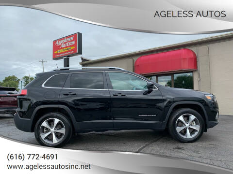 2020 Jeep Cherokee for sale at Ageless Autos in Zeeland MI