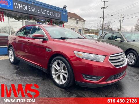 2013 Ford Taurus for sale at MWS Wholesale  Auto Outlet in Grand Rapids MI