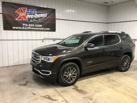 2018 GMC Acadia for sale at Karl Pre-Owned in Glidden IA