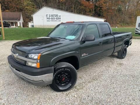 2004 Chevrolet Silverado 2500HD for sale at Rt 33 Motors LLC in Rockbridge OH