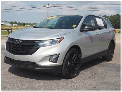2021 Chevrolet Equinox for sale at STRICKLAND AUTO GROUP INC in Ahoskie NC