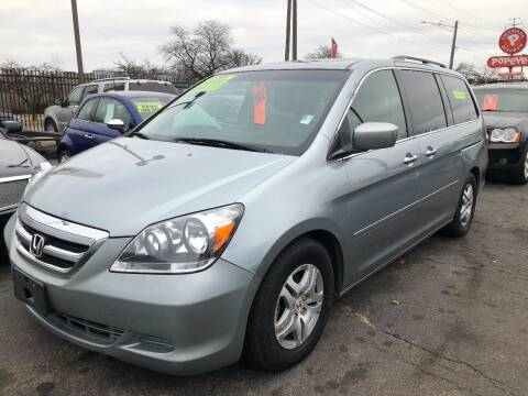 2006 Honda Odyssey for sale at RJ AUTO SALES in Detroit MI