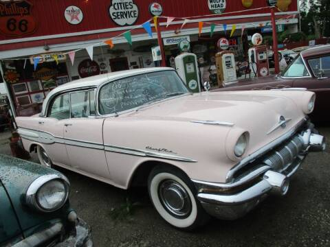 1957 Pontiac Chieftain for sale at Marshall Motors Classics in Jackson MI