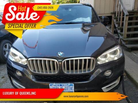 2017 BMW X5 for sale at LUXURY OF QUEENS,INC in Long Island City NY