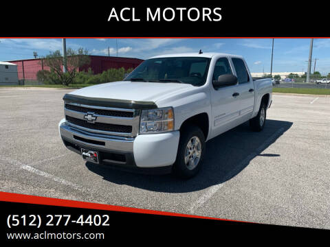 2010 Chevrolet Silverado 1500 for sale at ACL MOTORS in Austin TX