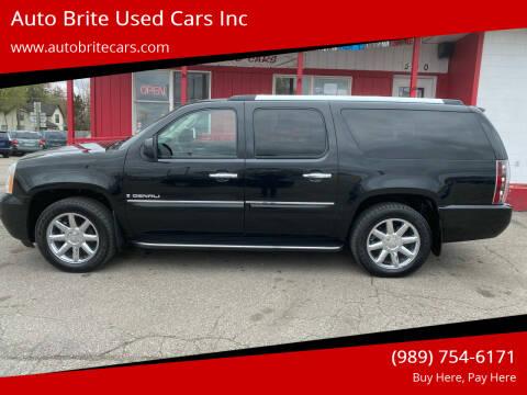 2007 GMC Yukon XL for sale at Auto Brite Used Cars Inc in Saginaw MI
