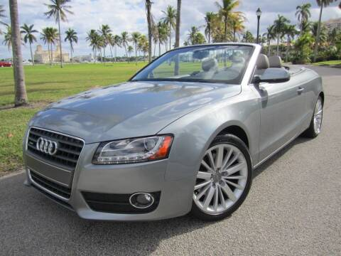 2010 Audi A5 for sale at FLORIDACARSTOGO in West Palm Beach FL