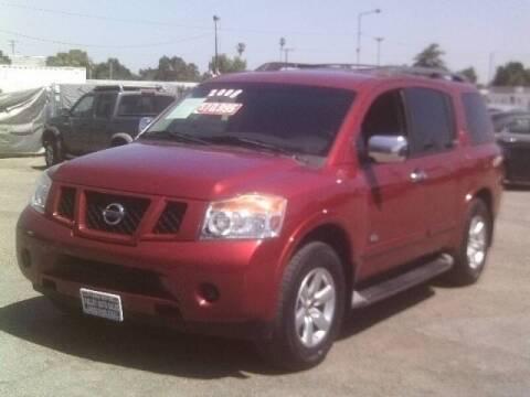 2008 Nissan Armada for sale at Valley Auto Sales & Advanced Equipment in Stockton CA
