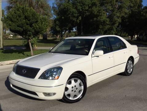 2003 Lexus LS 430 for sale at FIRST FLORIDA MOTOR SPORTS in Pompano Beach FL