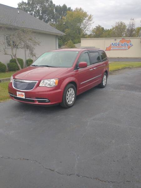 2016 Chrysler Town and Country for sale at McCully's Automotive - Trucks & SUV's in Benton KY