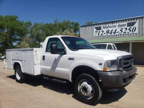 2003 Ford F-450 Super Duty for sale at Midwest Auto of Siouxland, INC in Lawton IA