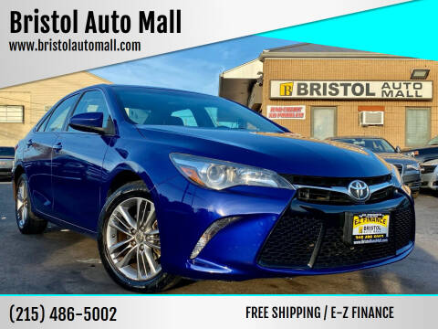 2015 Toyota Camry for sale at Bristol Auto Mall in Levittown PA