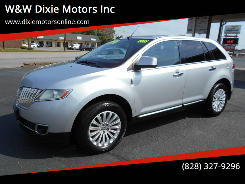 2011 Lincoln MKX for sale at W&W Dixie Motors Inc in Hickory NC
