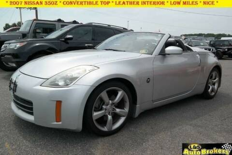2007 Nissan 350Z for sale at L & S AUTO BROKERS in Fredericksburg VA