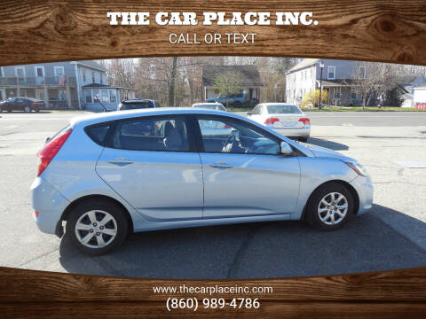 2012 Hyundai Accent for sale at THE CAR PLACE INC. in Somersville CT
