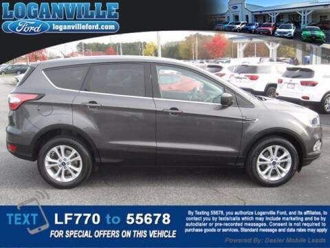 2017 Ford Escape for sale at Loganville Ford in Loganville GA