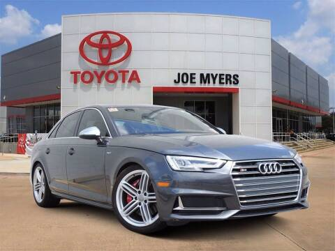 2018 Audi S4 for sale at Joe Myers Toyota PreOwned in Houston TX