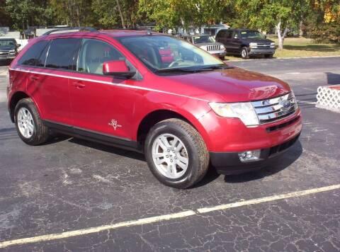 2007 Ford Edge for sale at LAKESIDE MOTORS LLC in Houghton Lake MI