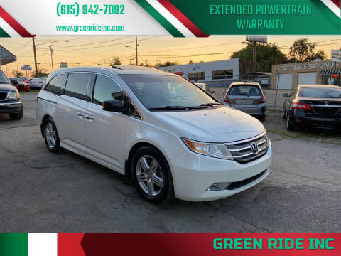 2012 Honda Odyssey for sale at Green Ride Inc in Nashville TN