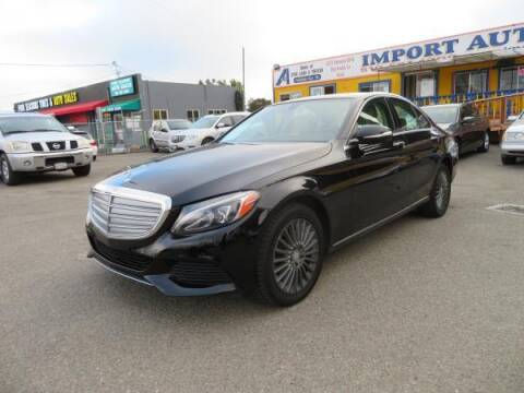 2015 Mercedes-Benz C-Class for sale at Import Auto World in Hayward CA