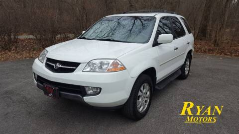 2003 Acura MDX for sale at Ryan Motors LLC in Warsaw IN