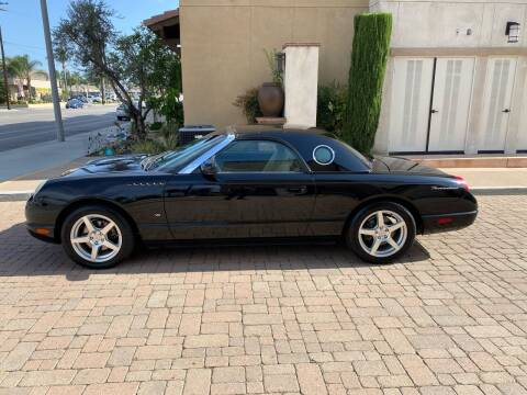 2004 Ford Thunderbird for sale at California Motor Cars in Covina CA